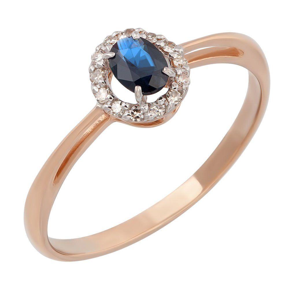 цена на Золотое кольцо с сапфирами