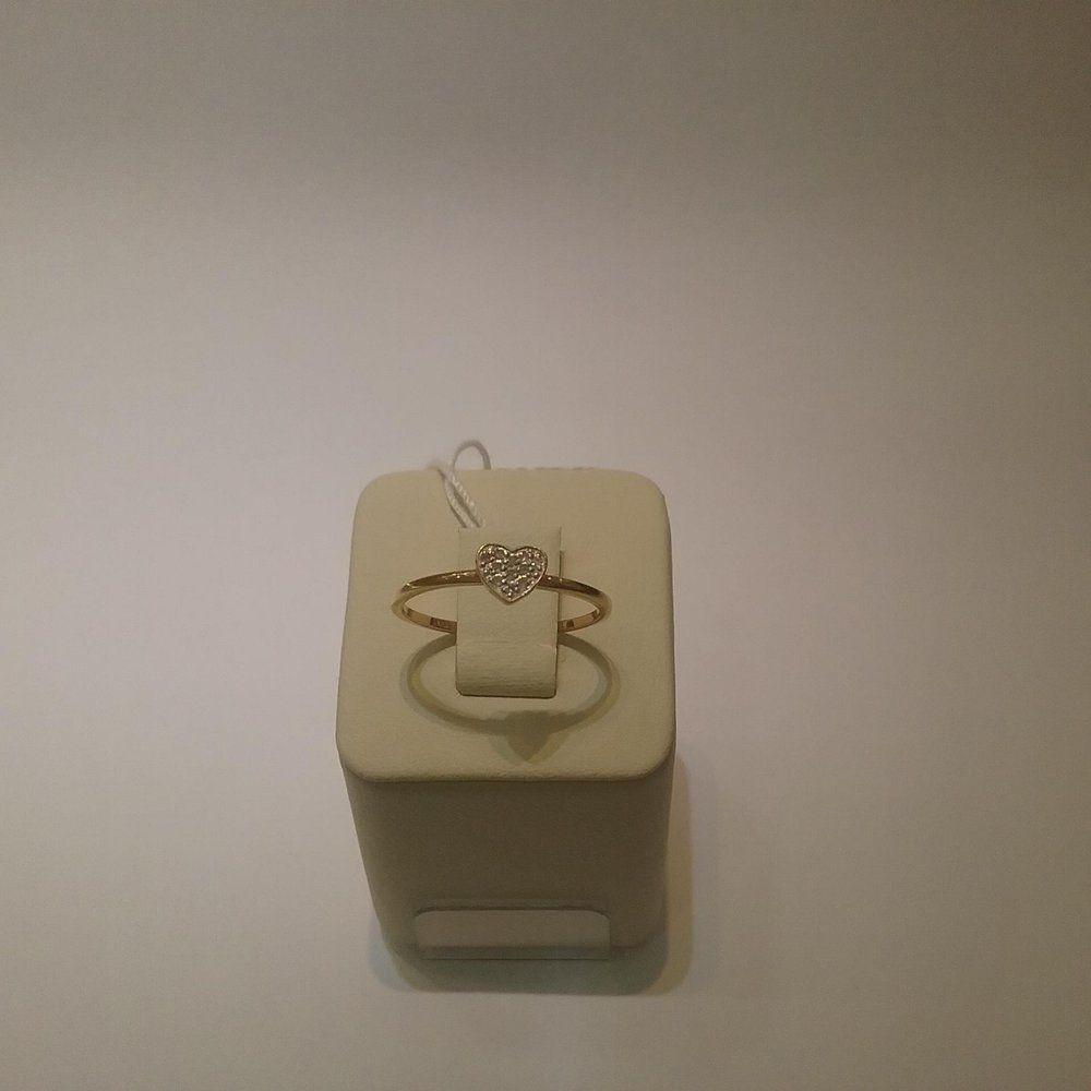 Золотое кольцо 585 пробы 4624 101