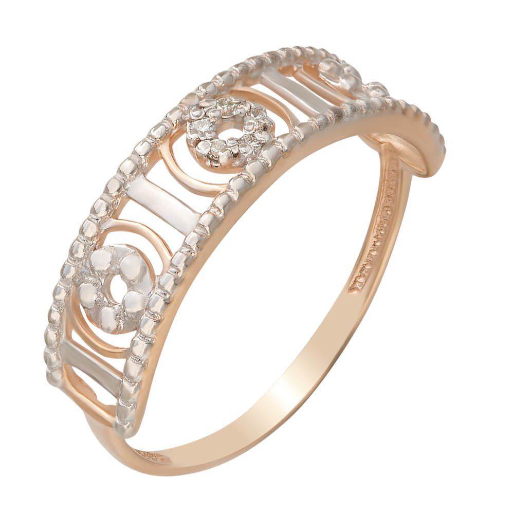 цена на Золотое кольцо с бриллиантами