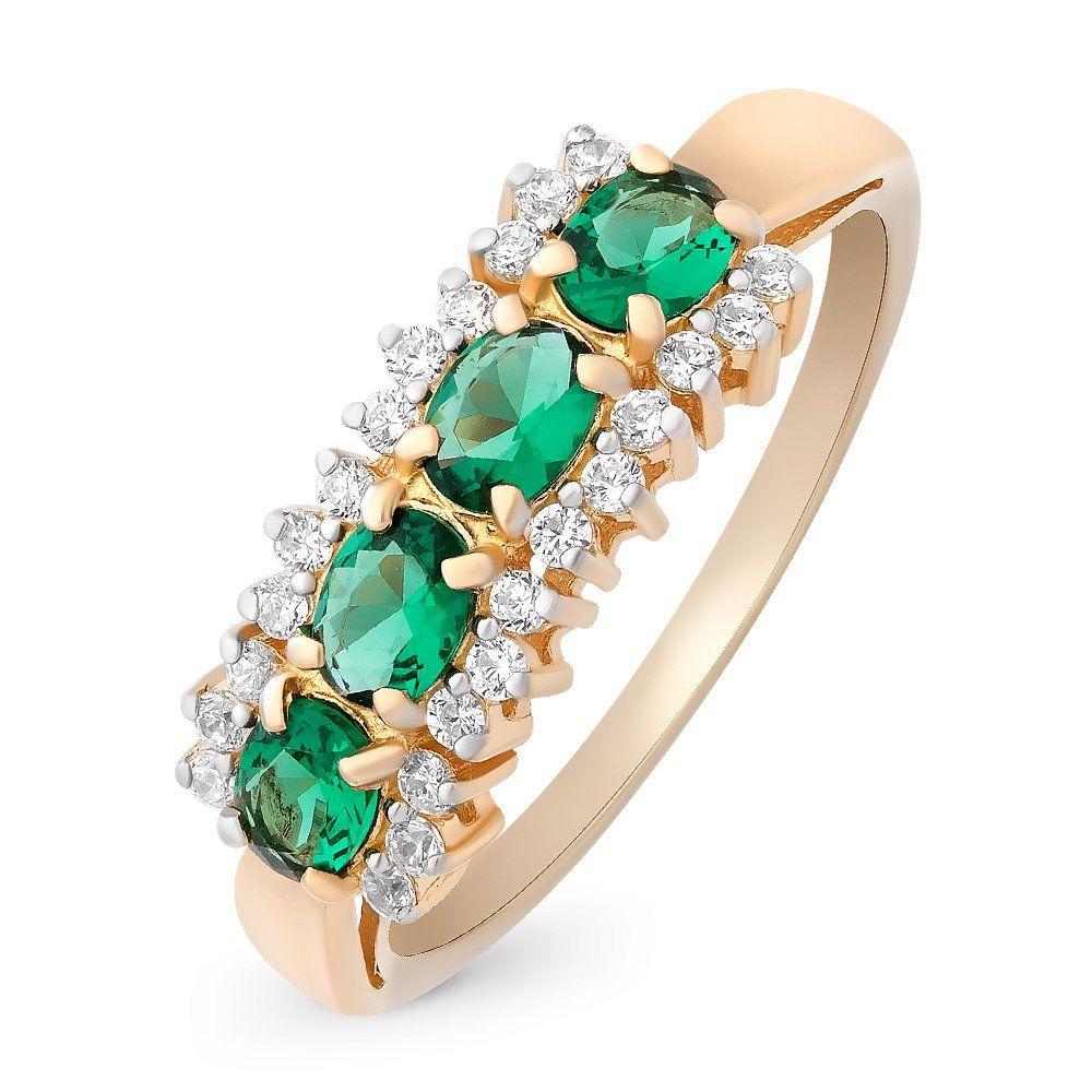 Золотое кольцо с изумрудами корнеудалитель raco 4205 53520