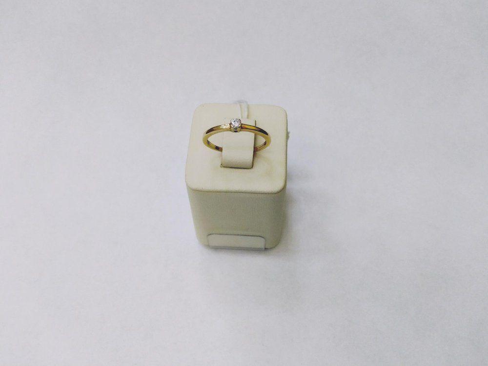 лучшая цена Золотое кольцо 585 пробы